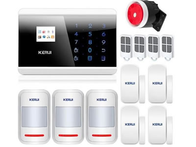 KERUI 8218G GSM PSTN Dual Wireless Home Alarm Security System For