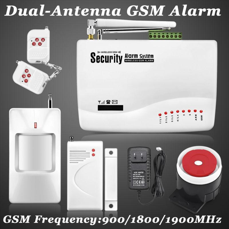 Burglar Alarm Cost >> Wireless home security burglar alarm system